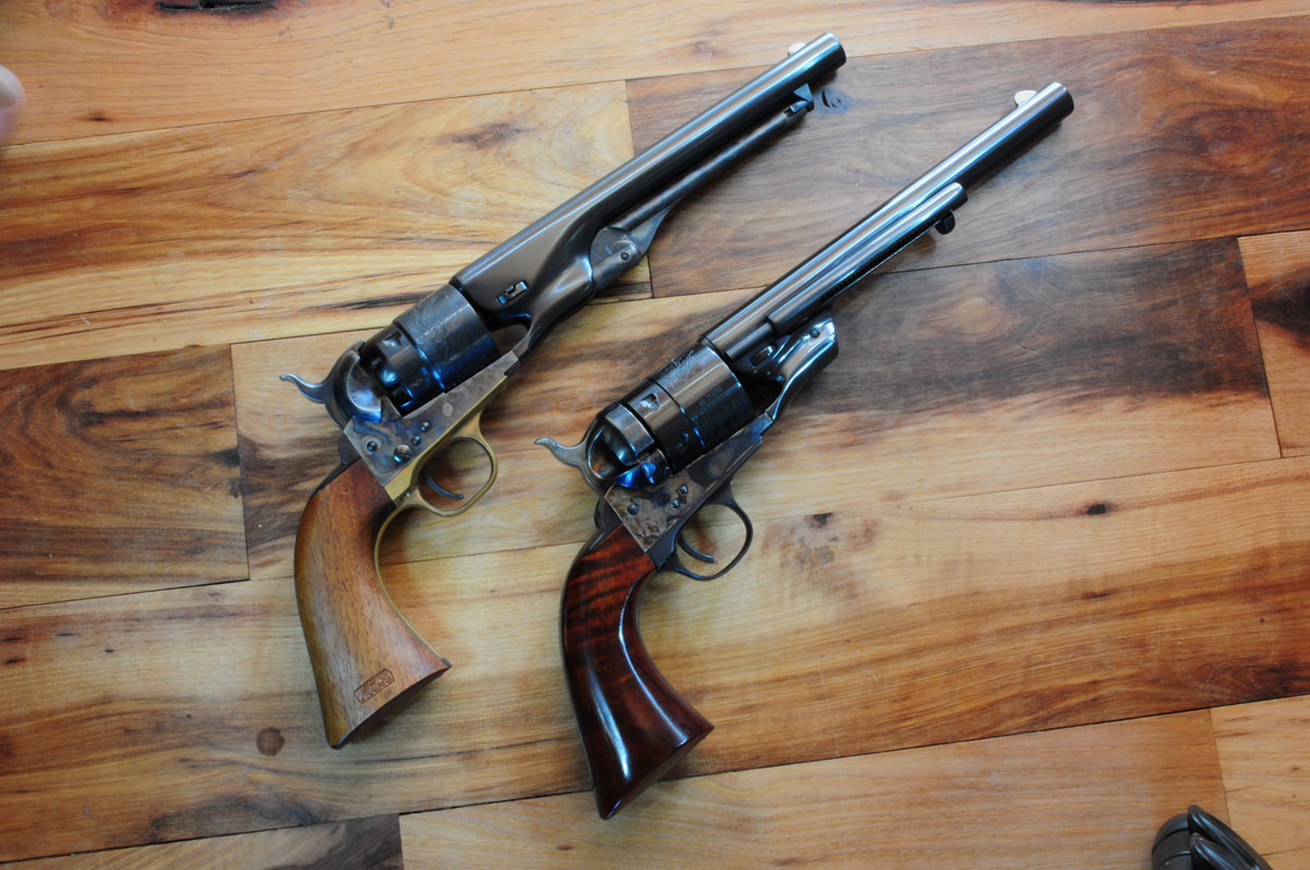 1860 Richards Transition Model Sixgun - GunsAmerica Digest