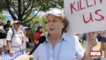 WATCH: NRA Protester Balks at Gun Owners Who Think It's Okay to Kill Home Intruders