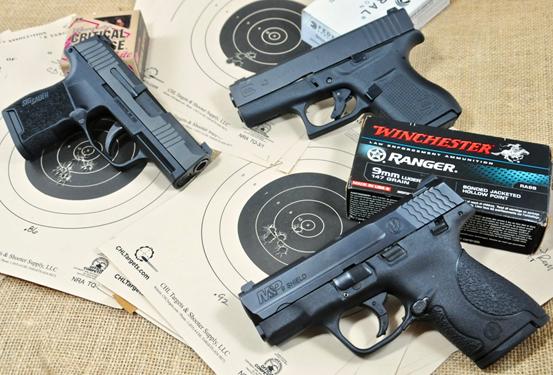 9mm Micro Shootout – Sig P365 vs. Glock 43 vs. S&W Shield