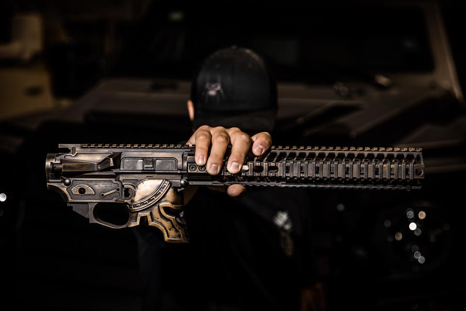 Rare Breed and Spike's Spartan AR is a Functioning Work of Art