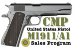 Ordering of Surplus Government 1911s from CMP Begins Today, Sept. 4th!