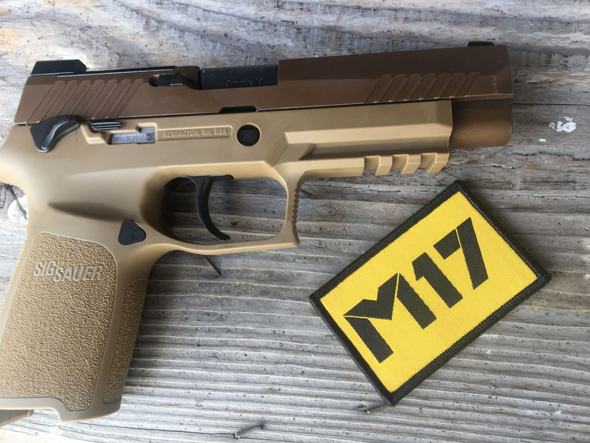 The Chosen One: The Army's M-17 Pistol Review