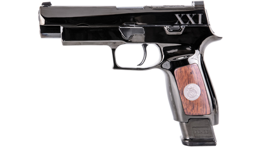 SIG Unveils Tomb of the Unknown Presentation, Commercial MHS Pistols