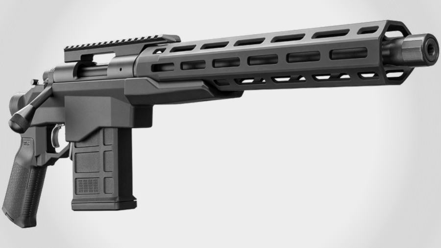 Remington's 700 CP is a Tactical Bolt-Action Hunting Handgun