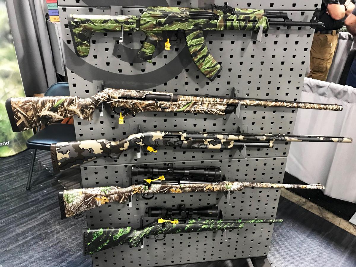 GunSkins Vinyl Wrap: DIY Camo for Rifles, Pistols, and More – SHOT Show 2019