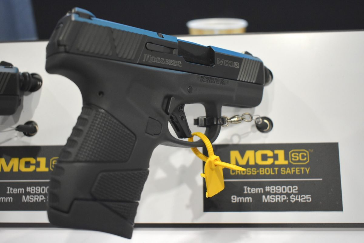 Mossberg Enters the Concealed-Carry Market with the New MC1SC – SHOT Show 2019