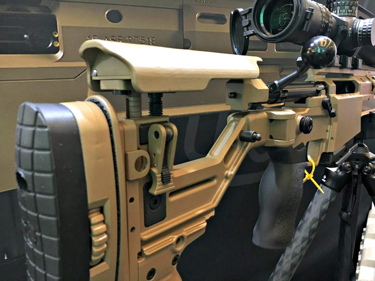 Accuracy International's ASR (Advanced Sniper Rifle) Deployment Kit ($20,000!) – SHOT Show 2019