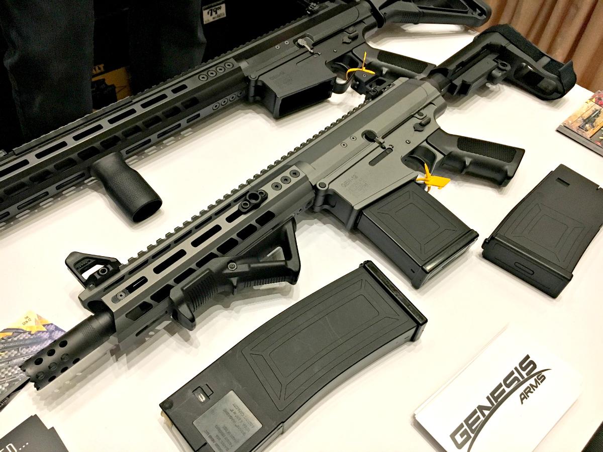 A Legit AR-10 Patterned 12 Gauge: The Gen-12 From Genesis Arms – SHOT Show 2019