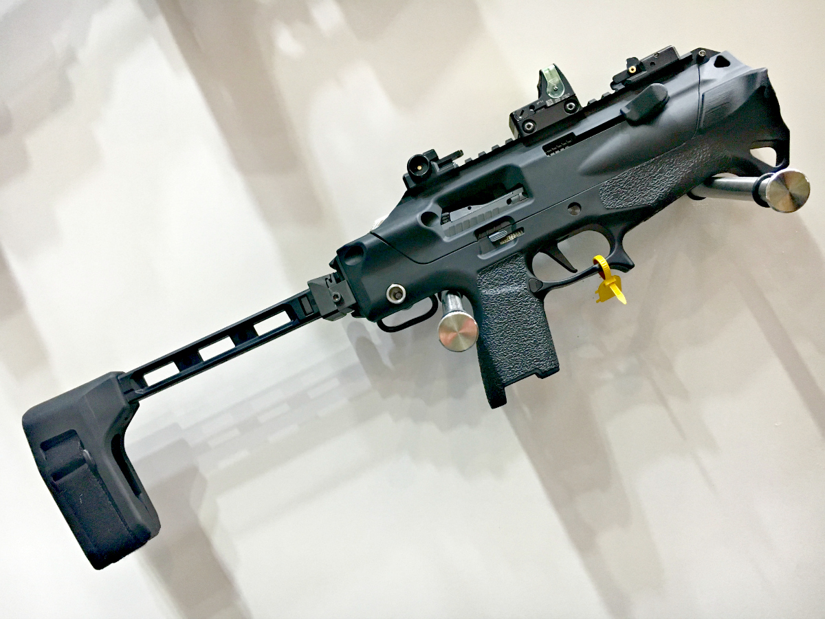 Radical Firearms PDW Chassis for SIG P320s – SHOT Show 2019