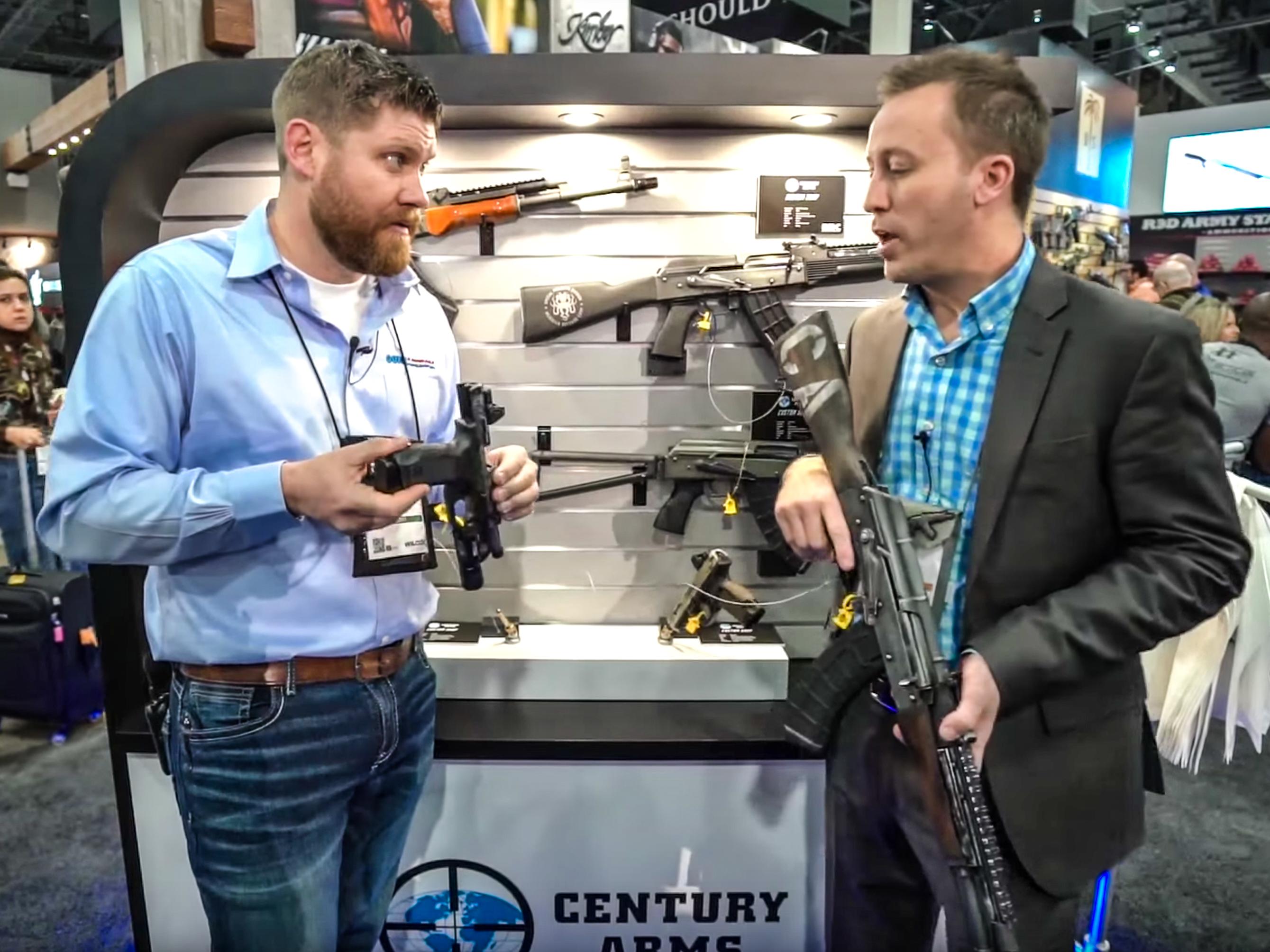 Century Arms & Canik Custom AKs, Pistols – SHOT Show 2019