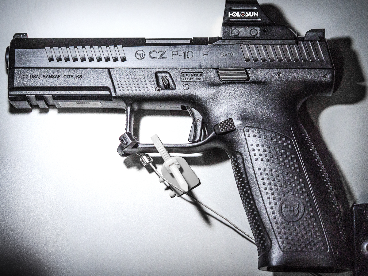 CZ's Made-In-The USA, Optics-Ready P-10 Pistols – SHOT Show 2019