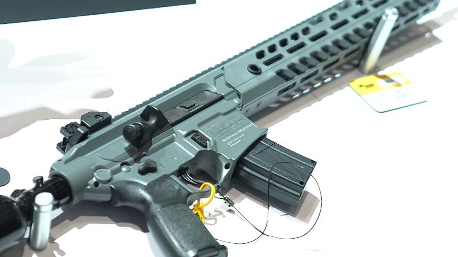 SIG Announces Belt-Fed .22-Caliber PCP Airgun – SHOT Show 2019