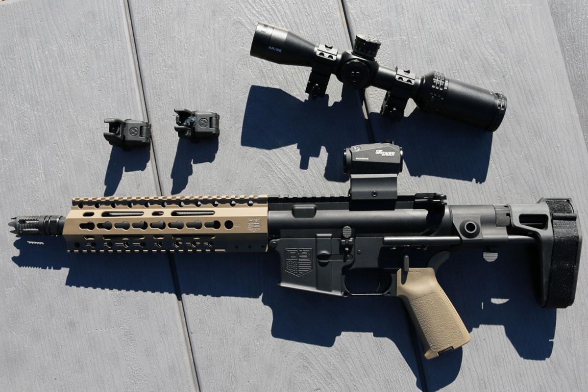 Brace Yourself, Diamondback Firearms DB15 Pistol in 7.62×39