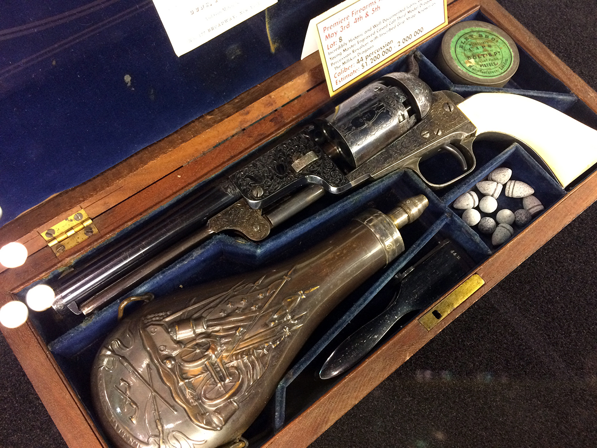 GORGEOUS Colt Millikin Dragoon Could Set World Record at This Week's Rock Island Auction – NRA 2019