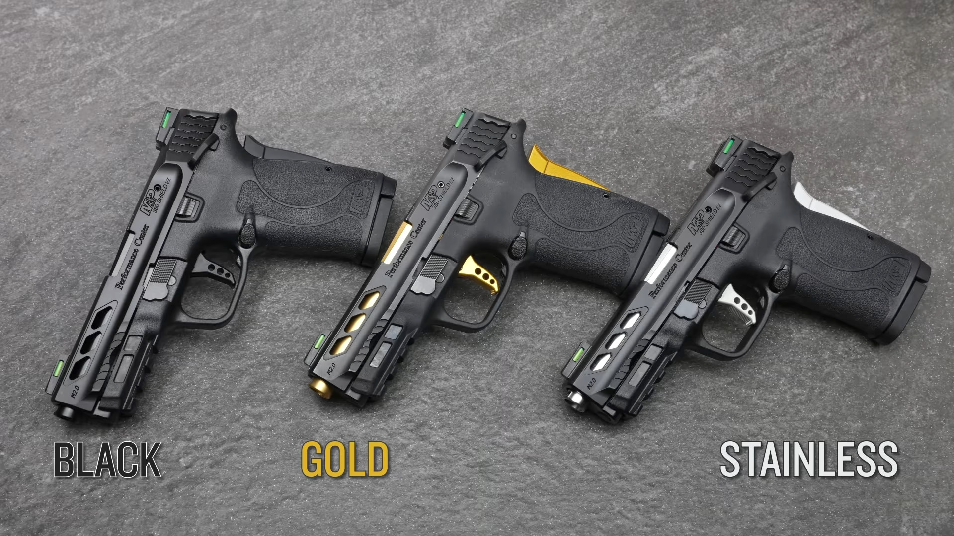 Smith & Wesson Expands Performance Center with 3 M&P Shield EZs