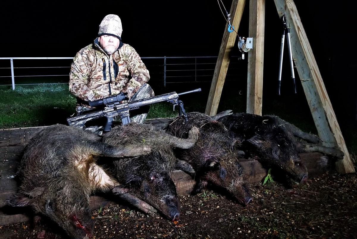 Brenton USA's Ranger Carbon Hunter Goes Hog Hunting