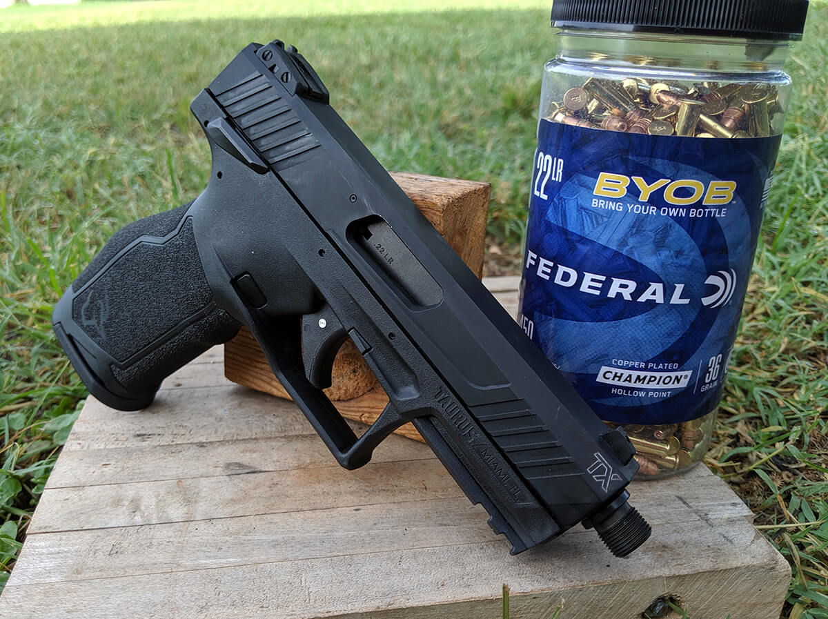Taurus Hits it Out of the Park with the New TX22