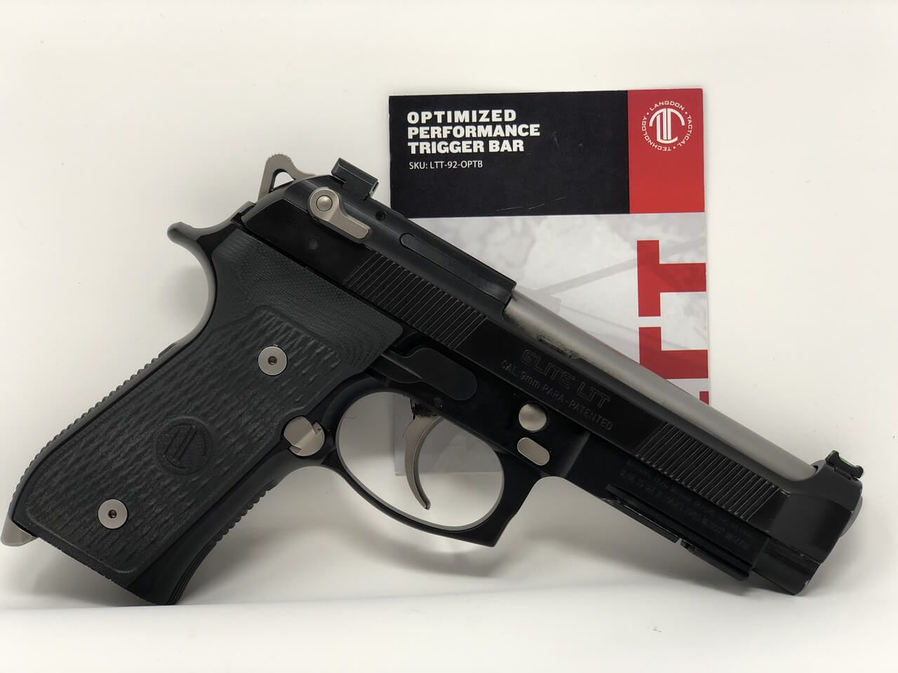 Make Your Beretta 92 Even Faster: LTT's Optimized Performance Trigger Bar