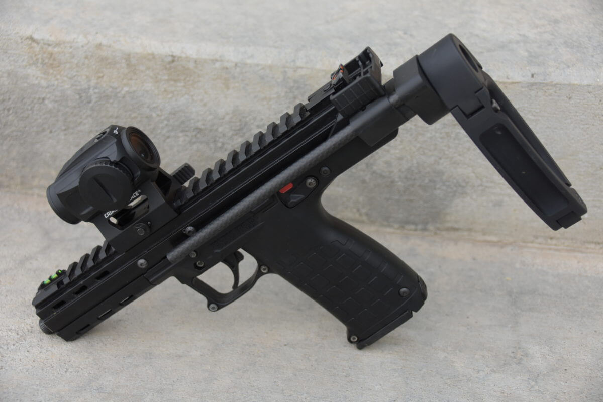 The Keltec CP33 Gets Braced! New Aftermarket Pistol Brace Options Reviewed