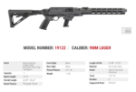 Ruger Announcing 9mm PC Carbine Chassis Rifle