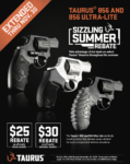Taurus Extends Rebate on Select 856 and 856 Ultra-Lite Revolvers