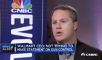 Walmart CEO on Blowback from Customers after Halting Ammo Sales: 'A little bit. But not much'