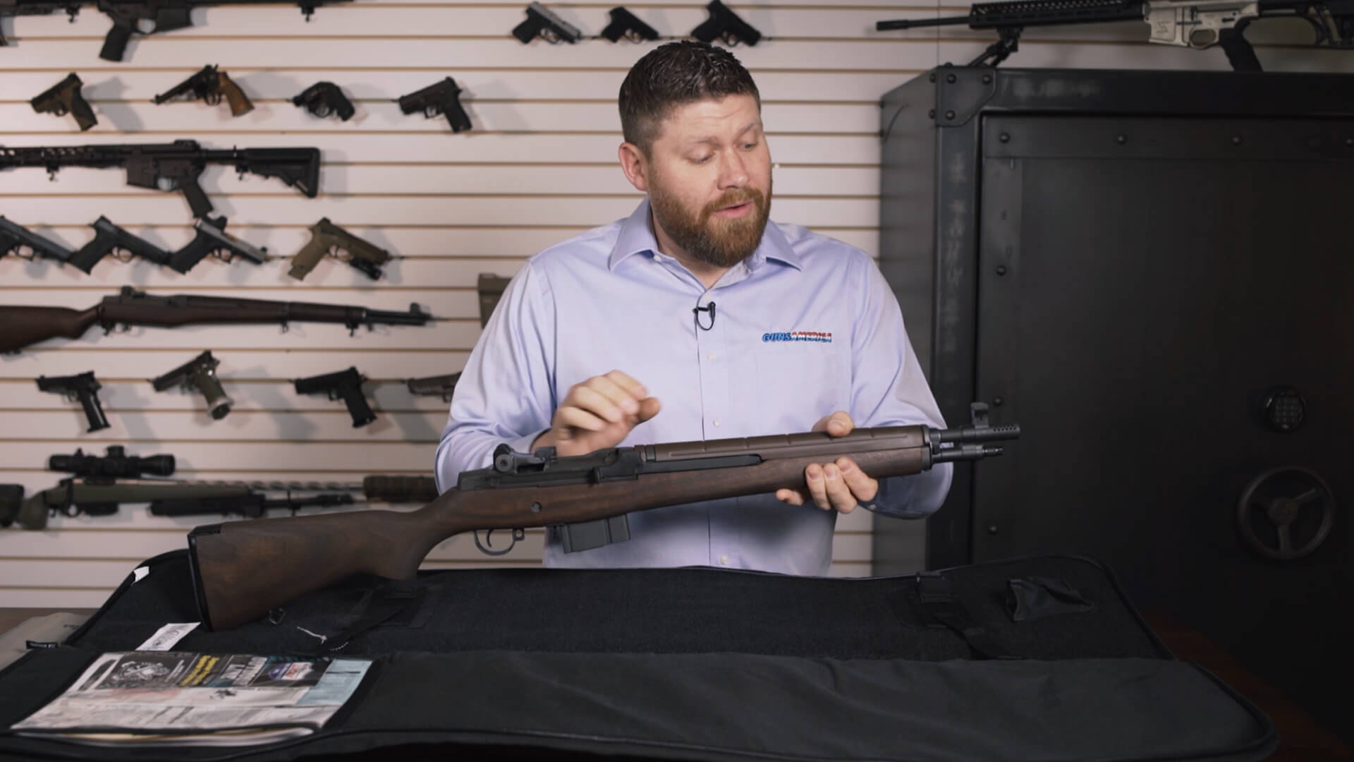 Springfield Armory M1A Tanker Unboxed at the Gun Counter
