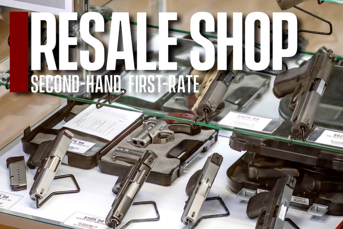 Resale Shop: Second-Hand. First-Rate.