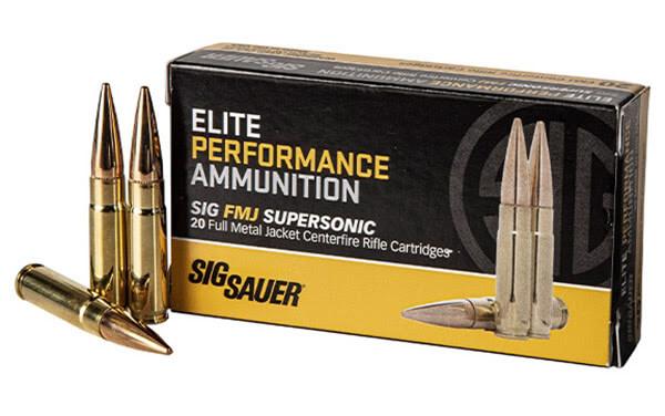 SIG SAUER Introduces 300BLK FMJ Rifle Ammunition