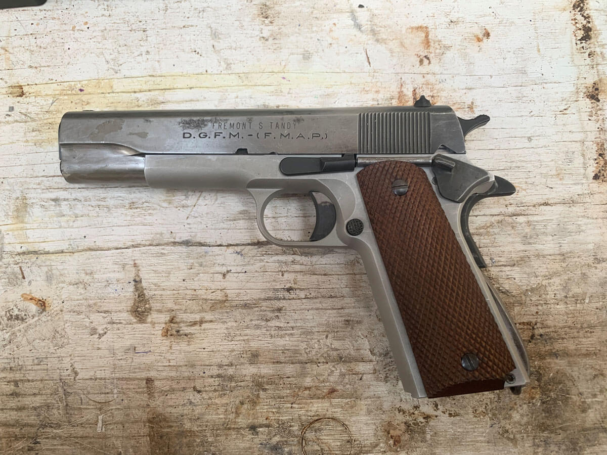 An 80% 1911 Frame You Can Build in Your Garage