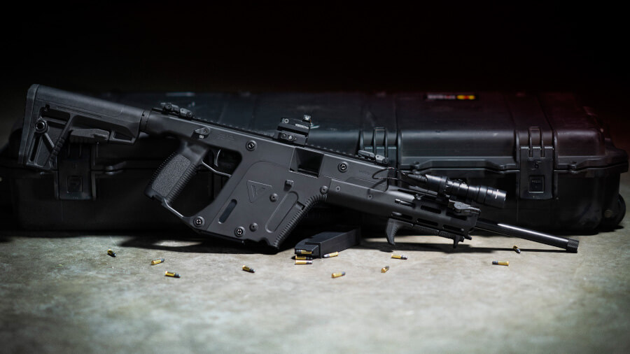 Kriss Vector Carbines and Pistols Now in .22 Long Rifle