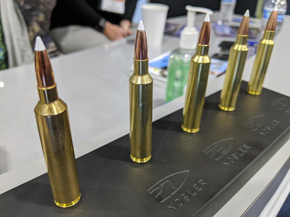 Does the Venerable Old .270 Win Need a Makeover? Nosler Thinks So – SHOT Show 2020
