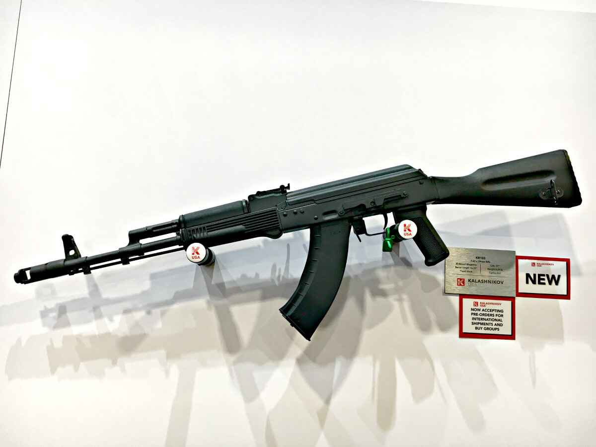 KR103 : A Russian AK made in the USA – SHOT Show 2020