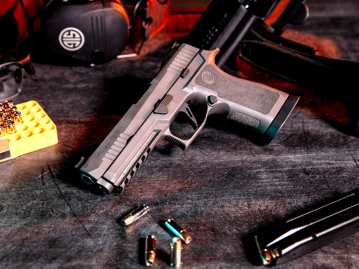 Tungsten Infused Gun-Tech – SIG Interview – P320 XFIVE Legion – SHOT Show 2020