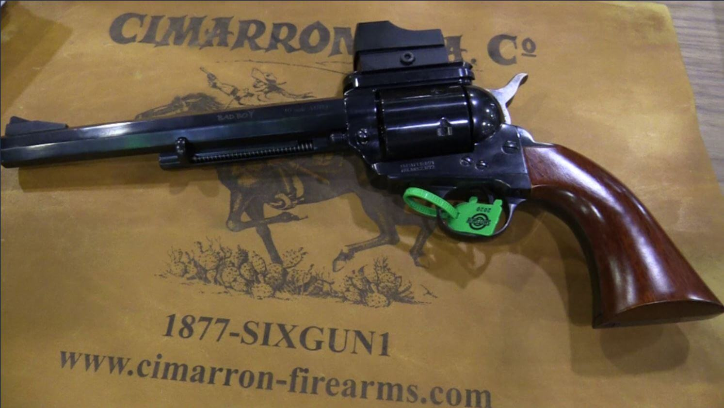 10mm 'No Moonclips' Single Action Revolver – Cimarron Badboy – SHOT Show 2020