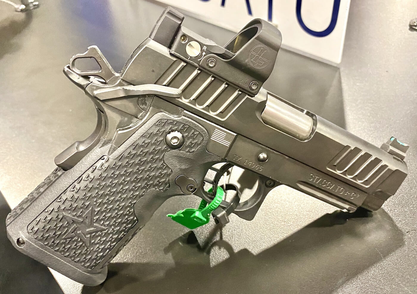 STI Gets New Name and New Pistols from Staccato 2011 – SHOT 2020