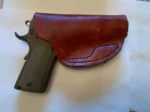 A Nice Weekend Project: Making a Leather Holster