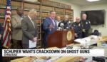 Schumer Calls on DOJ, ATF to Crack Down on 'Ghost Guns' (Gun Parts, Kits)