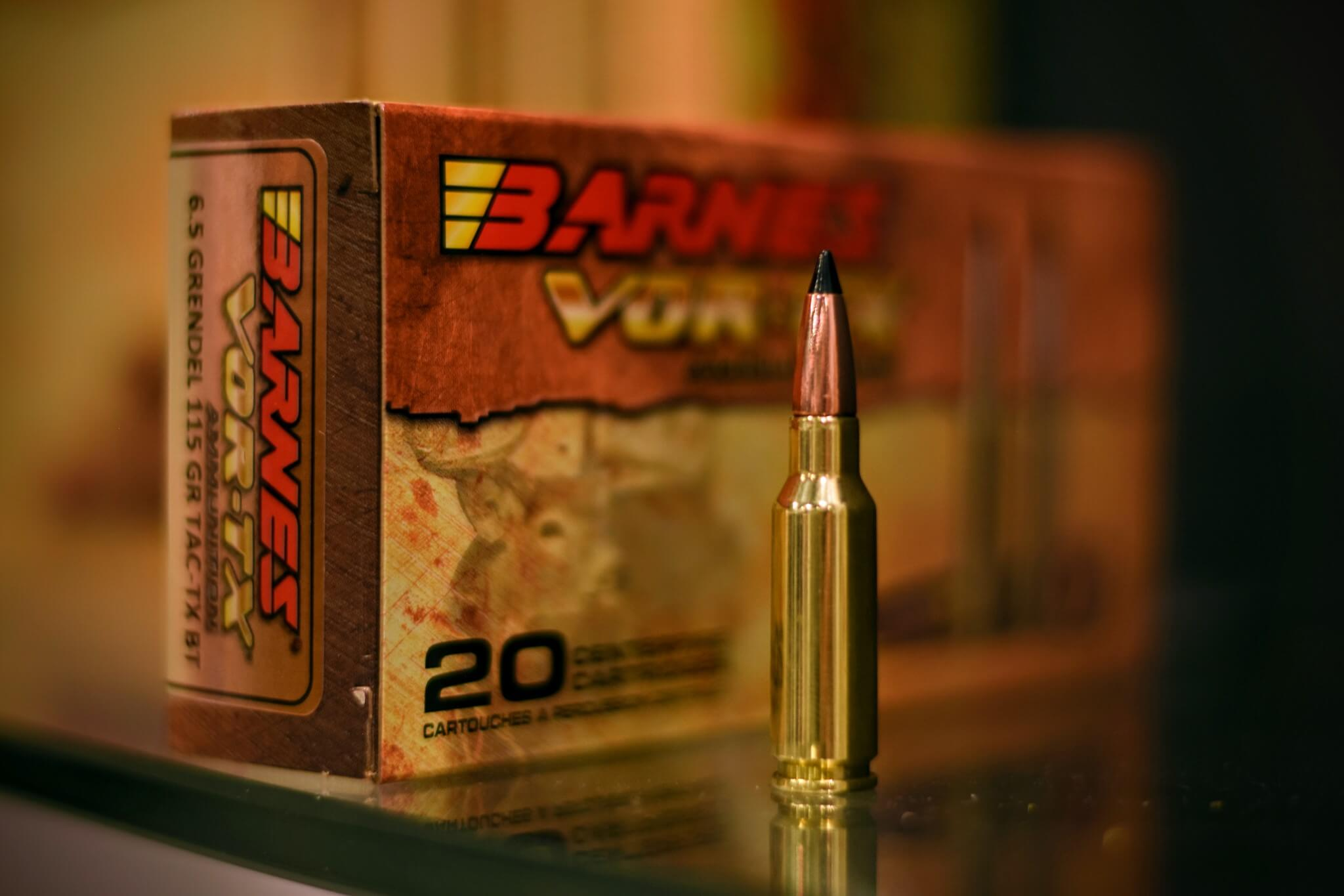 Barnes: 6.5 Grendel Ammo, 6.5mm Projectiles for Reloading – SHOT Show 2020