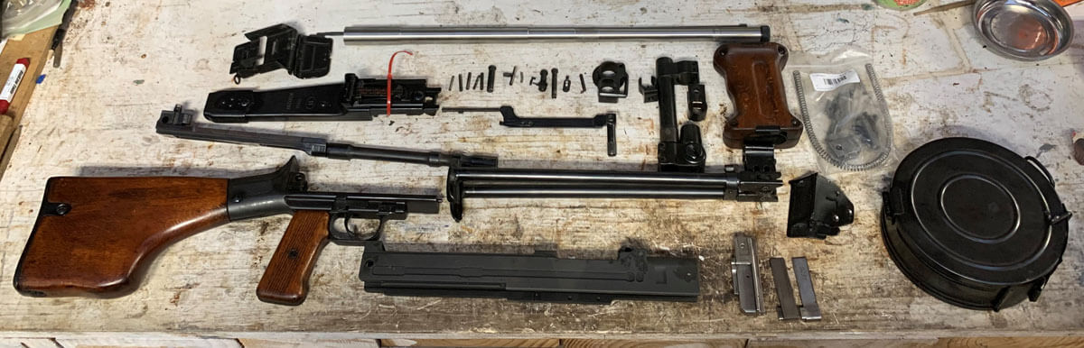 Building My First Belt-Fed: Semi-Auto RPD Build Part 1