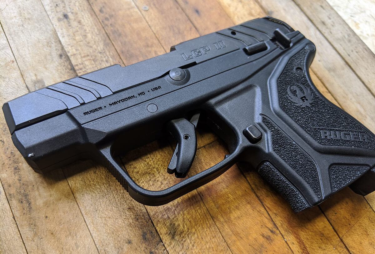 """Ruger LCP II """"Lite Rack"""" .22LR: Legit CCW or a Great Trainer? (Full Review)"""