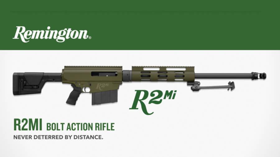 Remington Reintroducing Bolt-Action .50-Caliber Rifle as the R2MI