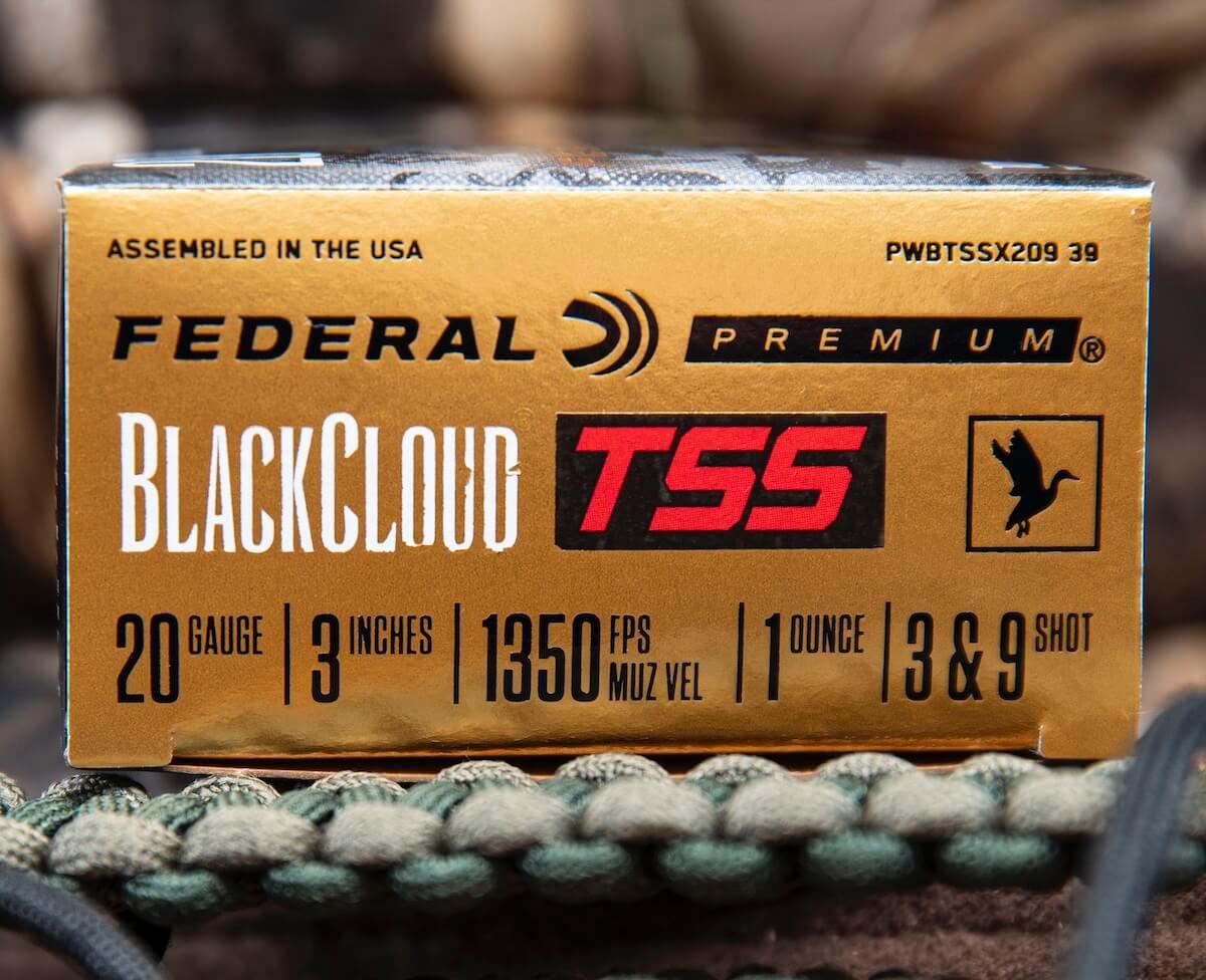 Federal Ammunition Introduces New Black Cloud TSS 20 Gauge