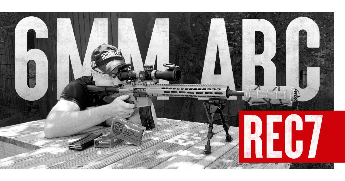 Barrett Firearms Awarded DOD Contract for REC7 Rifles in 6mm ARC