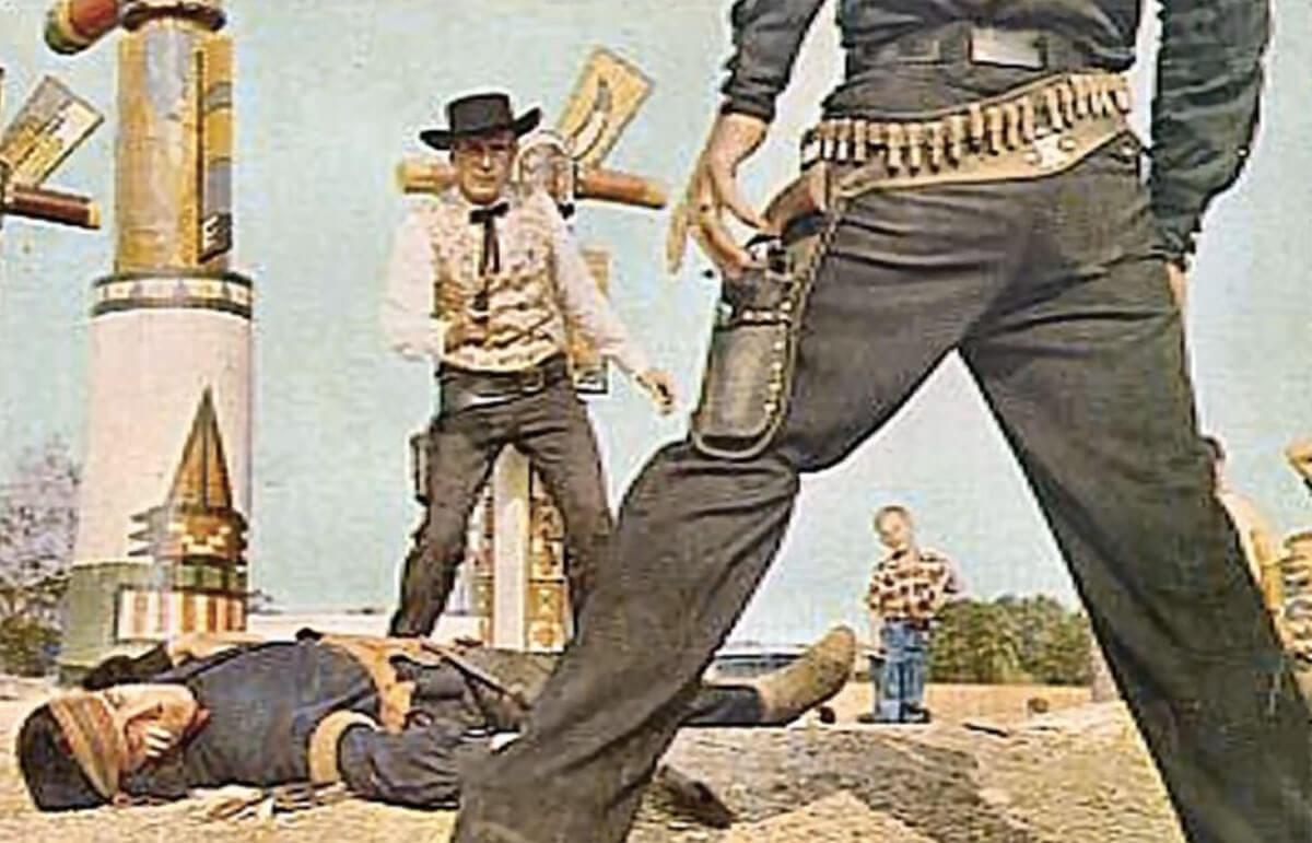 Four Dead Men in Five Seconds