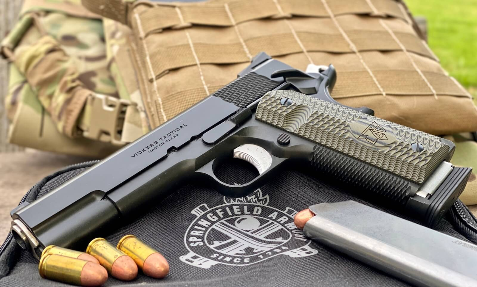Testing the Springfield Armory Vickers Tactical 1911