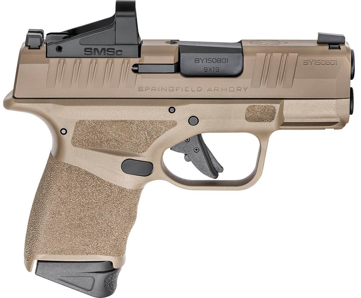 Springfield Armory's Got Hellcats in FDE, Standard and Optics-Ready
