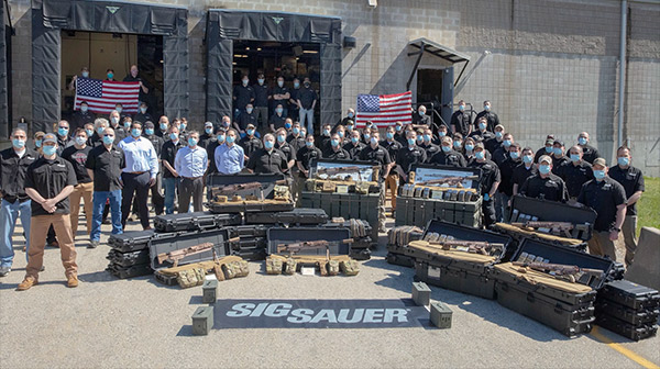 SIG SAUER Delivers Next Generation Squad Weapons to U.S. Army