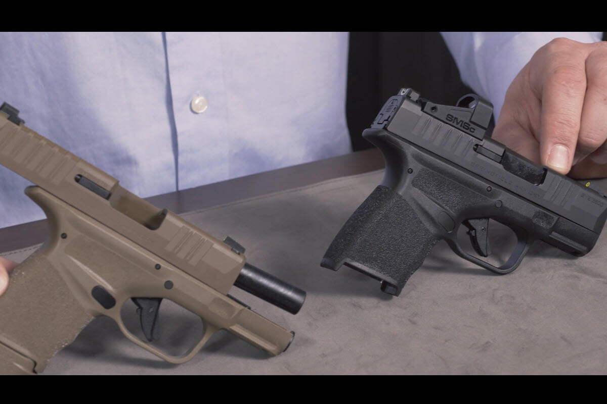 Springfield Hellcat SMSc and FDE Unboxed at the Gun Counter