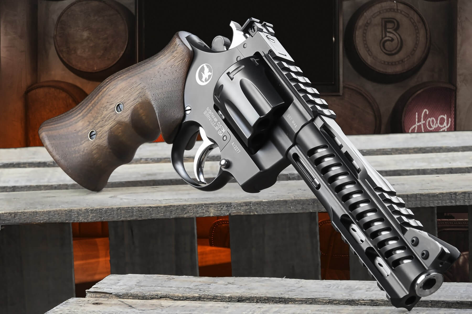 Nighthawk Debuts Gorgeous Korth NXS & NXA Revolvers with 8 Rounds of .357 Mag